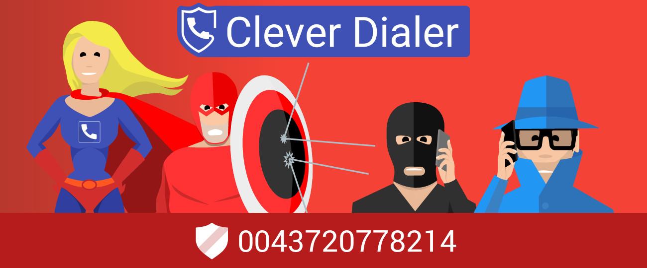 Nervige Telefonnummer